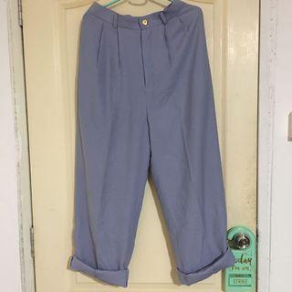Vintage straight cut pants