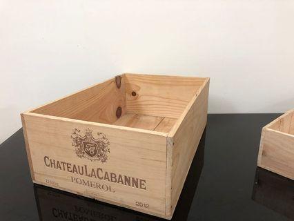 🚚 原木紅酒箱