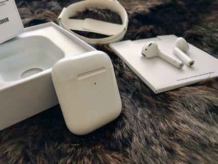 🚚 全新媲美airpods 2代華強北款,無線觸摸藍牙耳機(彈窗、支援無線充電)