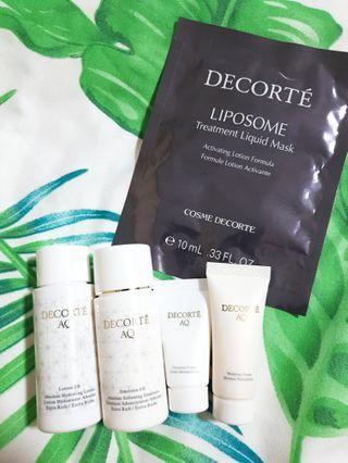 Cosme Decorte Skincare Set