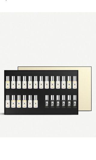 Jo Malone cologne collection Set of 25