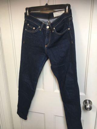 Rag & Bone High Rise Jeans