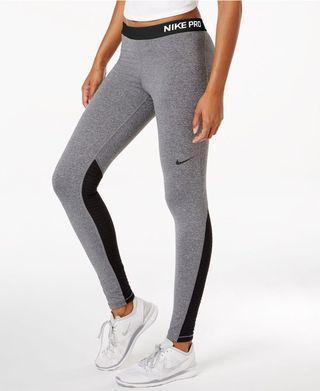 Nike Dri-Fit Workout Training Leggings Grey