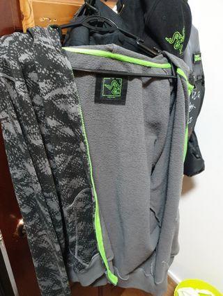 Team Razer hoodie and key chain
