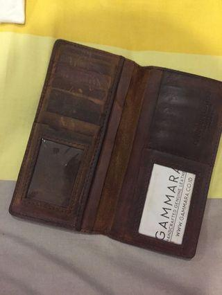 #mauthr FS: Gammara Leather Indonesia Wallet (Genuine Leather not Synthetic)