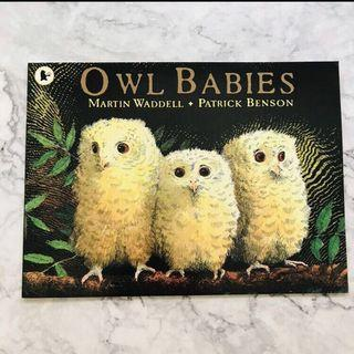 Owl Babies - Picture book about separation anxiety