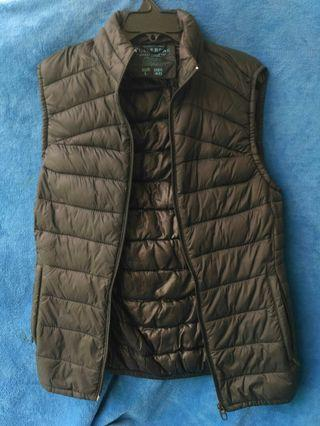 Rompi vest pull and bear nylon waiscoat