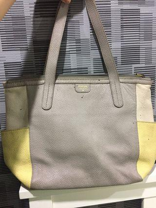 Fossil tote leather bag