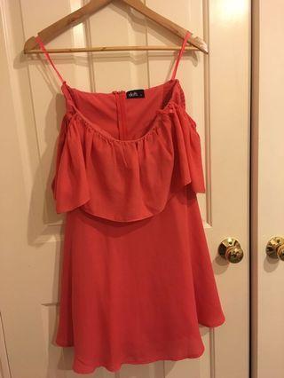 DOTTI - off shoulder dress SIZE 8