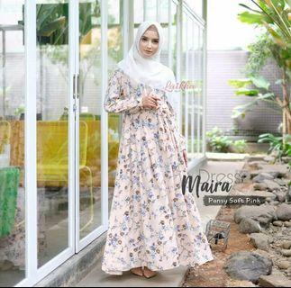 Maira Dress - Gamis by Laikhahijab