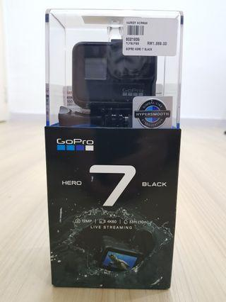 GoPro Hero 7 Black to let go