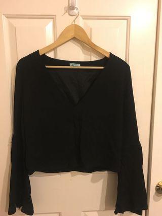 Kookai black top Size 34