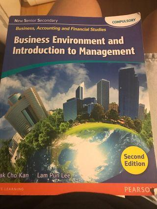 New senior secondary bafs introduction to management