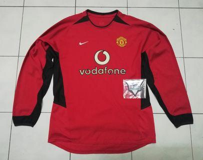 Manchester United 0203 home long sleeve Jersey