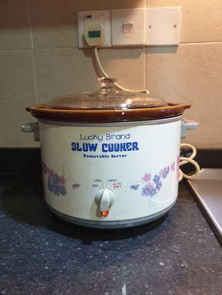 Lucky 4.7litre Slow Cooker