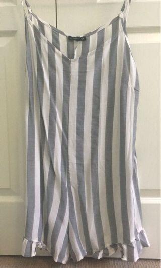 Striped jumpsuit BRAND NEW