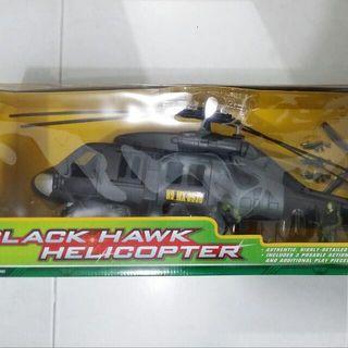 Rare Motor Max Black Hawk Helicopter