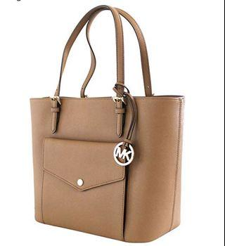 Authentic MICHAEL KORS Jet Set Large Multifunctional tote