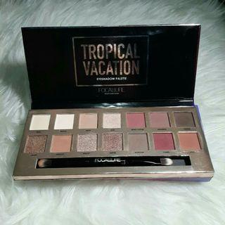 #mauthr Focallure Eyeshadow Tropical Vacation