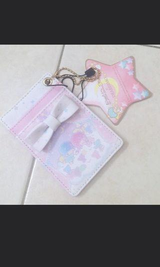 🚚 Sanrio little twin star card holder Lanyard