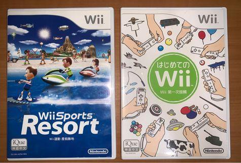 原裝Wii遊戲 x 2 (不散買)