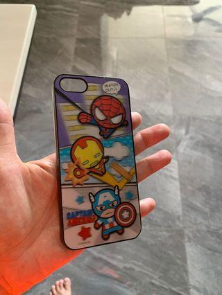 🚚 Iphone 5s cute avengers casing