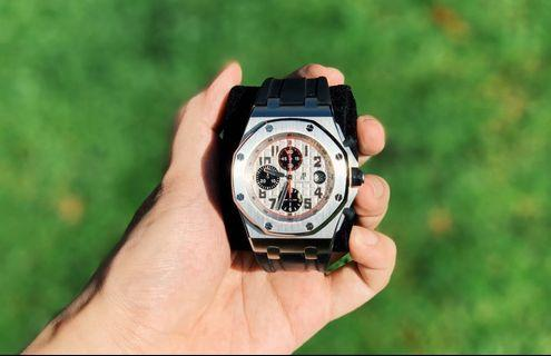 Audemars Piguet Royal Oak Offshore Panda Dial