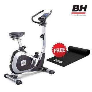 🚚 New BH H674U Exercise Upright Bike. Comes with free equipment mat worth $89 , 01 year warranty and free delivery and installation.Europe TOP Brand