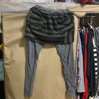 🚚 a la sha假2件棉褲