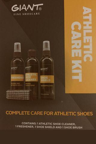 Athletic Care Kit (4 in 1) (Cleaner, Odor, Repel, Brush)