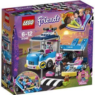 100% Authentic Lego Friends 41348 (Services & Care Truck)