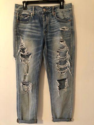 American Eagle Tomgirl Jeans ~ US Size 8
