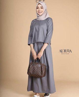 Top & Pleated skirt by elysca