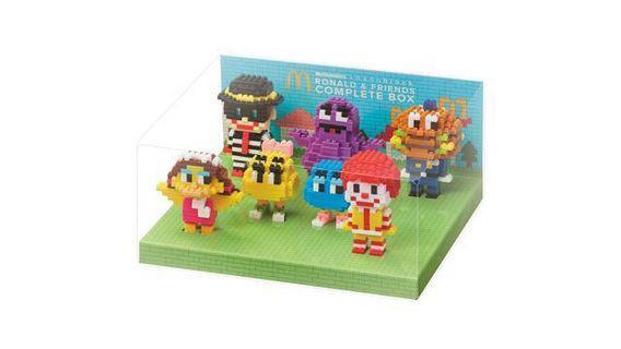 McDonald nanoblock Ronald & Friends box set