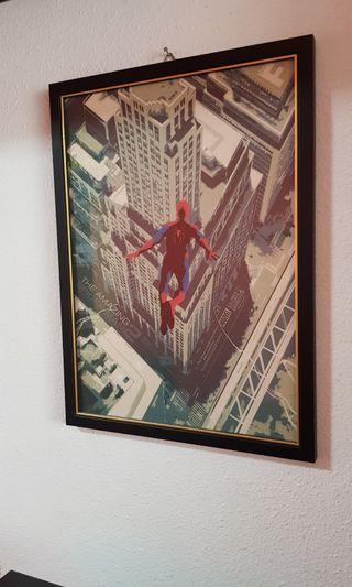 Marvel, Spiderman, Man Of Steel Wall Art Poster Frame