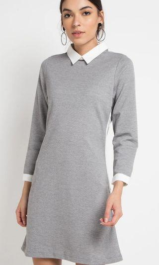 Collar  knit dress