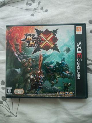 3DS Monster Hunter X