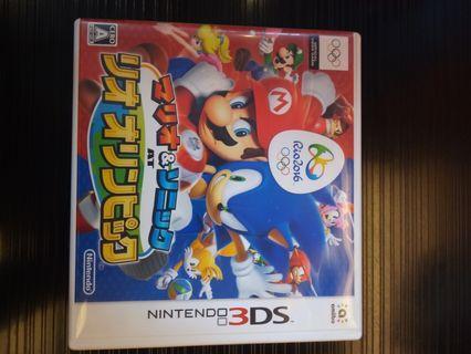 3dd Mario, Sonic 運動㑹