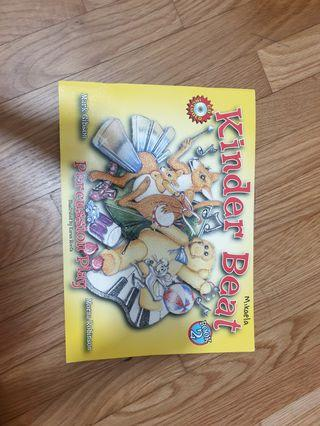 Kinder beat book 2 music education book cd included
