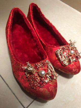 100%全新!中式褂鞋