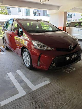 Brand New Toyota Prius+ Gofleet