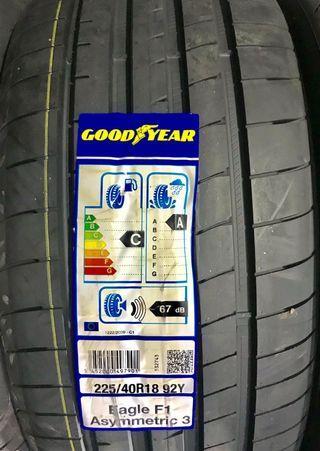 225/40R18 Goodyear F1 Asymmetric 3