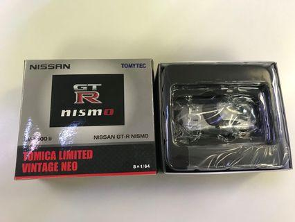 🚗 TOMICA LIMITED VINTAGE NEO LV-N100b 1/64 NISSAN GT-R NISMO (Silver)