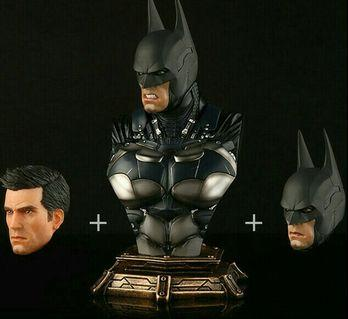 Batman Arkham Knight Resin Bust with 3 Interchangeable Heads