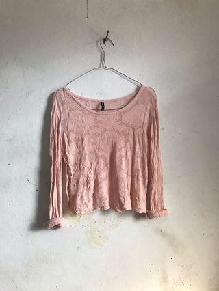 Sweater pink by Stradivarius