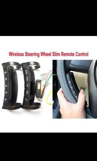 Multifunction wireless car steering wheel button remote control for stereo DVD GPS supported