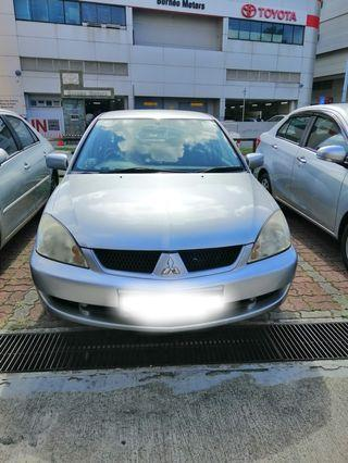 Mitsubishi Lancer 1.6A Year 2010 for lease/rent