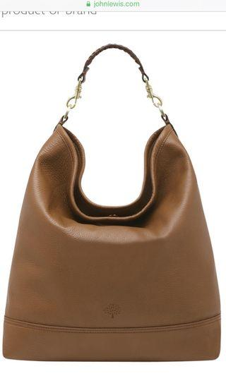 Mulberry Effie Leather Hobo Bag in oak