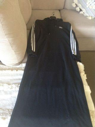 Adidas winter dress with hoodie