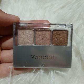 #mauthr Wardah Nude Colours Eyeshadow Classic